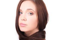 Muchacha hermosa con el pelo largo Fotografía de archivo libre de regalías