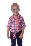 Muchacha hermosa con las gafas de sol Fotografía de archivo