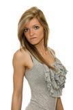 Muchacha hermosa con los pelos largos Fotografía de archivo libre de regalías