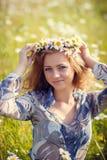 Muchacha hermosa del verano Fotografía de archivo libre de regalías