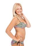 Muchacha hermosa en bikini Fotos de archivo libres de regalías