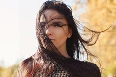 Muchacha hermosa Otoño lifestyle foto de archivo libre de regalías