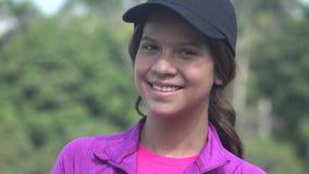 Muchacha hispánica bastante adolescente Fotografía de archivo libre de regalías