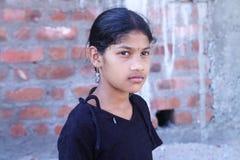 Muchacha india deprimida Foto de archivo libre de regalías