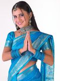 Muchacha india en la expresión agradable Foto de archivo libre de regalías