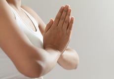 Muchacha india en la meditación 3 Fotos de archivo