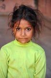 Muchacha india pobre Fotografía de archivo libre de regalías