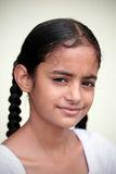 Muchacha india sonriente Imágenes de archivo libres de regalías