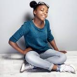 Muchacha joven de moda del teenag Fotografía de archivo libre de regalías
