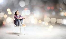 Muchacha joven del adolescente Imágenes de archivo libres de regalías