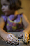 Muchacha joven del alfarero Imagen de archivo libre de regalías