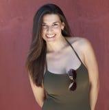 Muchacha latina linda en verano Fotografía de archivo