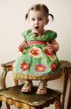 Muchacha linda Fotos de archivo