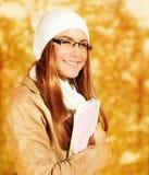 Muchacha linda del estudiante Imagen de archivo