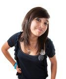 Muchacha linda del Latino Fotos de archivo libres de regalías