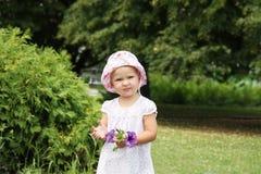 Muchacha linda del niño Foto de archivo libre de regalías