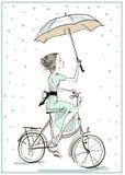 Muchacha linda del verano libre illustration