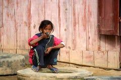 Muchacha malgache Fotografía de archivo libre de regalías