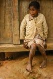 Muchacha malgache Imagen de archivo