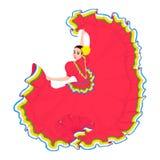 Muchacha mexicana libre illustration