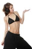 Muchacha moderna joven del bailarín Imagen de archivo libre de regalías