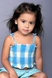 Muchacha multicultural joven foto de archivo