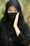Muchacha musulmán imagenes de archivo
