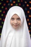 Muchacha musulmán Hejab fotos de archivo