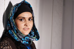 Muchacha musulmán hermosa Imágenes de archivo libres de regalías