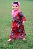 Muchacha musulmán joven Imágenes de archivo libres de regalías