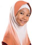 Muchacha musulmán joven con Hijab IV Imagenes de archivo