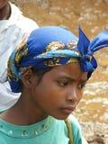 Muchacha nativa malgache fotos de archivo
