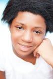 Muchacha negra adolescente Imágenes de archivo libres de regalías