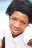 Muchacha negra adolescente Foto de archivo libre de regalías