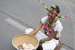 Muchacha nigeriana Foto de archivo