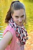 Muchacha ofendida del adolescente Foto de archivo libre de regalías