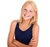 Muchacha pre adolescente Fotos de archivo