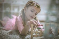Muchacha preescolar imagen de archivo