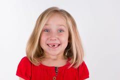 Muchacha preescolar sonriente Fotografía de archivo