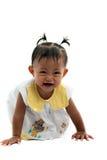 Muchacha que hace la cara divertida Imagen de archivo libre de regalías