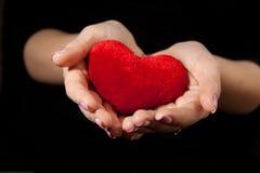 Corazón rojo. Fotografía de archivo libre de regalías
