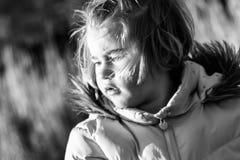 Muchacha que mira al futuro Fotos de archivo libres de regalías