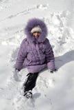 Niños en invierno Imagenes de archivo