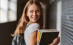 Muchacha que va para la clase Imagen de archivo libre de regalías