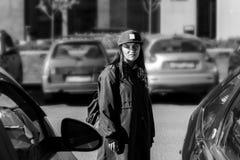 muchacha rebelde de los jóvenes Fotos de archivo libres de regalías