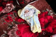 Muchacha recién nacida árabe foto de archivo libre de regalías
