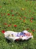 Muchacha recién nacida imagen de archivo libre de regalías
