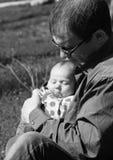 Muchacha recién nacida foto de archivo