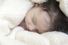 Muchacha recién nacida Fotos de archivo