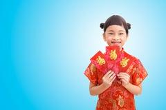 Muchacha rica en Año Nuevo chino Foto de archivo
